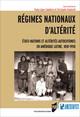 Régimes nationaux d'altérité