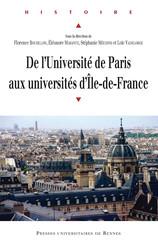 De l'université de Paris aux universités d'Île-de-France