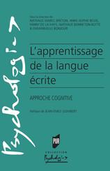 L'apprentissage de la langue écrite