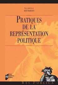Introduction. Au-delà de la crise, les modalités pratiques de la représentation politique