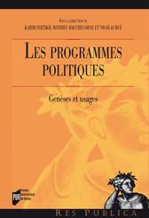 Les programmes politiques