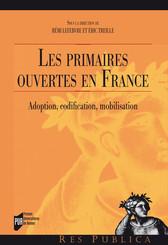 Les primaires ouvertes en France
