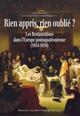 De l'État muratien à l'État bourbon: la transition de l'appareil étatique napolitain sous la Restauration (1815-1822)