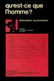 Morale, universalité et intersubjectivité