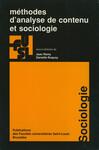 Méthodes d'analyse de contenu et sociologie