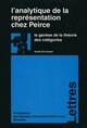 L'analytique de la représentation chez Peirce