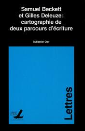 Samuel Beckett et Gilles Deleuze : cartographie de deux parcours d'écriture