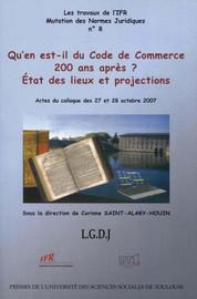 Le Code de commerce dans le mouvement de l'internationalisation des sources et des situations