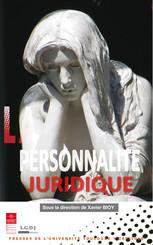La personnalité juridique