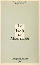 Le texte en mouvement