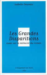 Les grandes disparitions