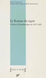 Le Roman du signe