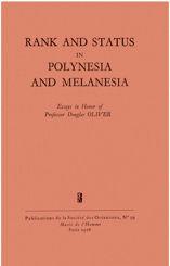 Rank and Status in Polynesia and Melanesia
