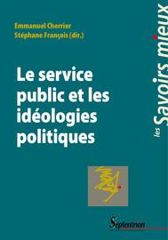 Les centres, le gaullisme et le service public