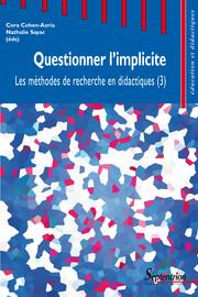 Questionner l'implicite