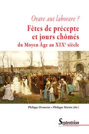 Les jours fériés et leur observance en Occident entre le XIIIe et le XVesiècle1