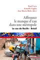 Annexe 1. Repenser le rôle des eaux souterraines dans la RMR