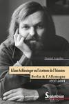 Klaus Schlesinger ou l'écriture de l'histoire