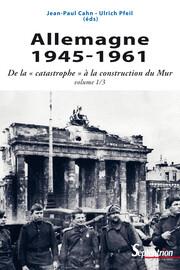 La population allemande: ruptures et continuités