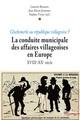 Les élus villageois du Pas-de-Calais dans la seconde moitié du XXesiècle: entre enjeux agricoles et politique générale