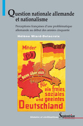 Question nationale allemande et nationalisme