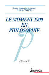 Le moment 1900 en philosophie