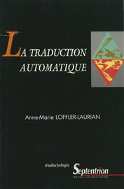 La traduction automatique