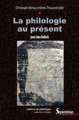 La philologie au présent