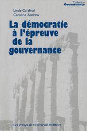 11. La gouvernance en tant que manière de voir: le paradigme de l'apprentissage collectif